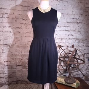 J. Crew Navy Sheath